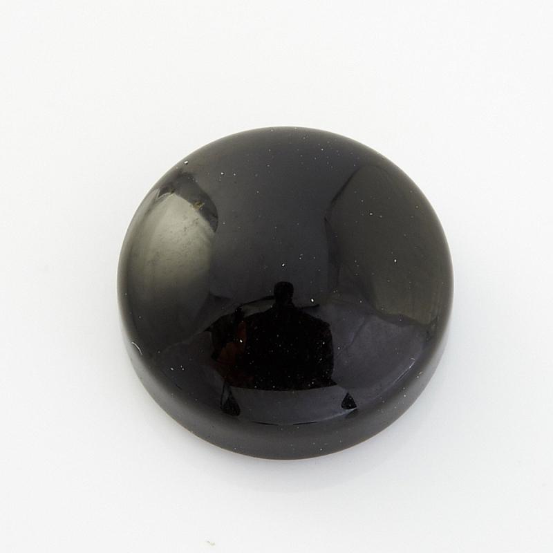 Кабошон агат черный  10 мм кабошон агат черный 10 мм