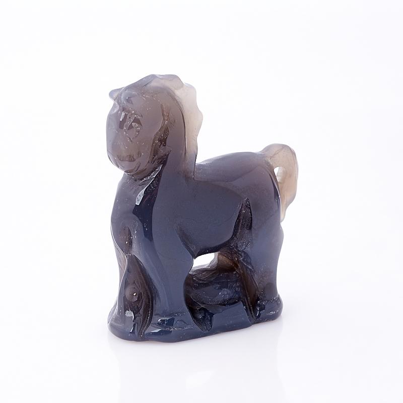 Лошадка агат серый Ботсвана 5 см