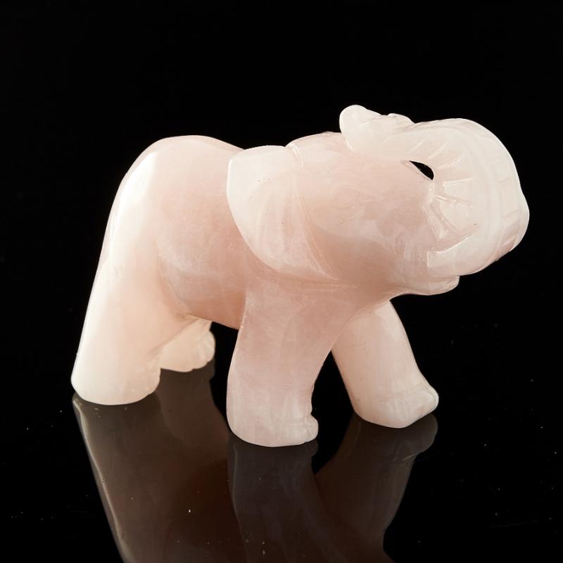 Слон розовый кварц Бразилия 4,5-5 см
