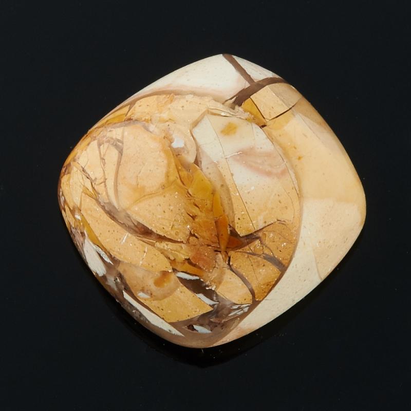 Кабошон яшма брекчиевый мукаит  12*12 мм