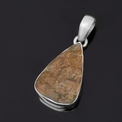 Кулон лабрадор Мадагаскар (серебро 925 пр.) капля