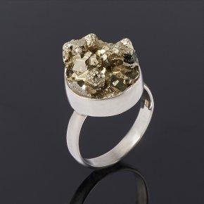 Кольцо пирит Перу (серебро 925 пр.) размер 17,5