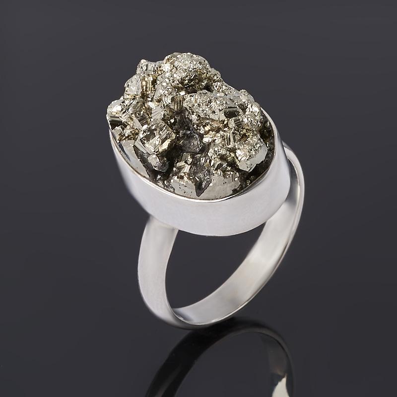 Кольцо пирит (серебро 925 пр.) размер 19