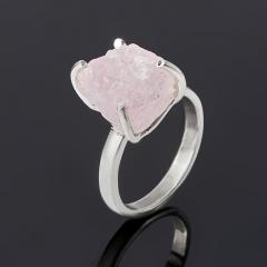 Кольцо розовый кварц Бразилия (серебро 925 пр.) размер 16,5