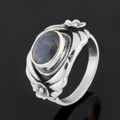Кольцо лабрадор Мадагаскар (серебро 925 пр.) огранка размер 19