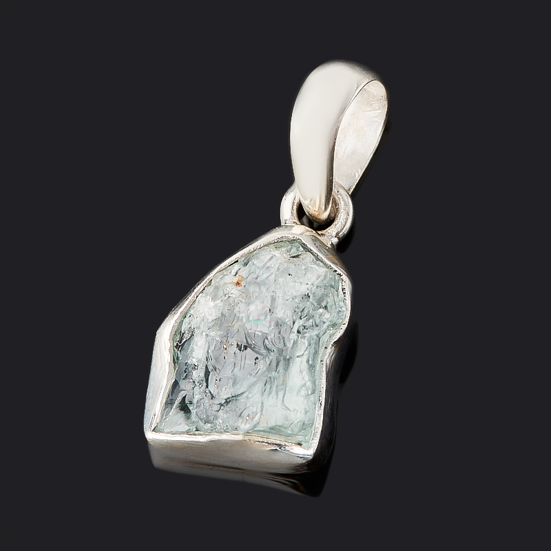 цена на Кулон аквамарин (серебро 925 пр.)