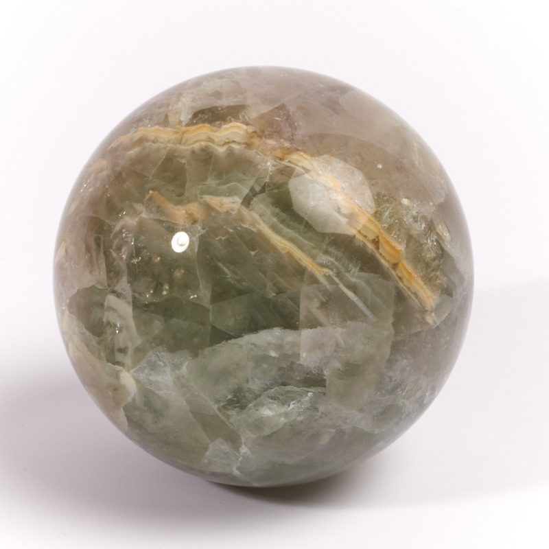Шар флюорит зеленый 6,5 см