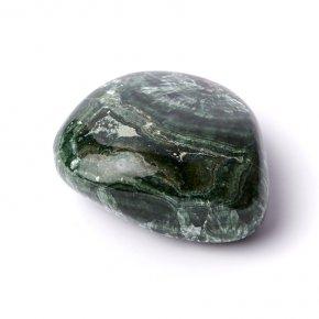 Галтовка клинохлор (серафинит) Россия S (4-7 см)