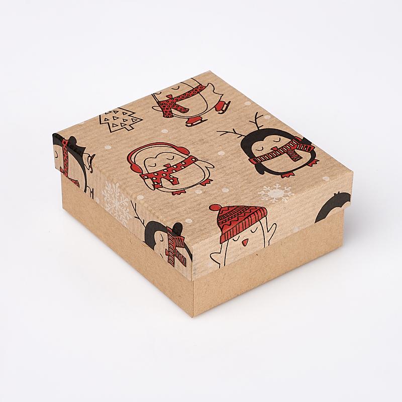 Подарочная упаковка под комплект (кольцо, серьги, цепь, кулон) (коробка) 80х70х35 мм подарочная упаковка под комплект кольцо серьги кулон 80х65х25 мм