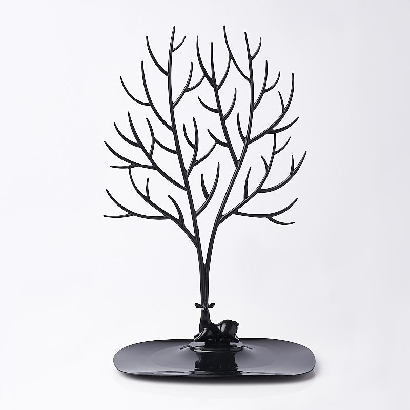 Подставка для украшений (пластик) (черный)