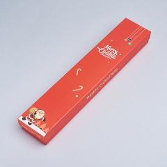 Подарочная упаковка (картон) под браслет/цепь (футляр) (микс) 210х40х20 мм