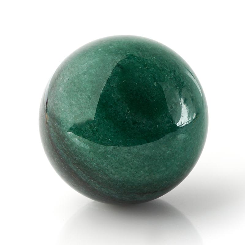 Шар авантюрин зеленый 6 см