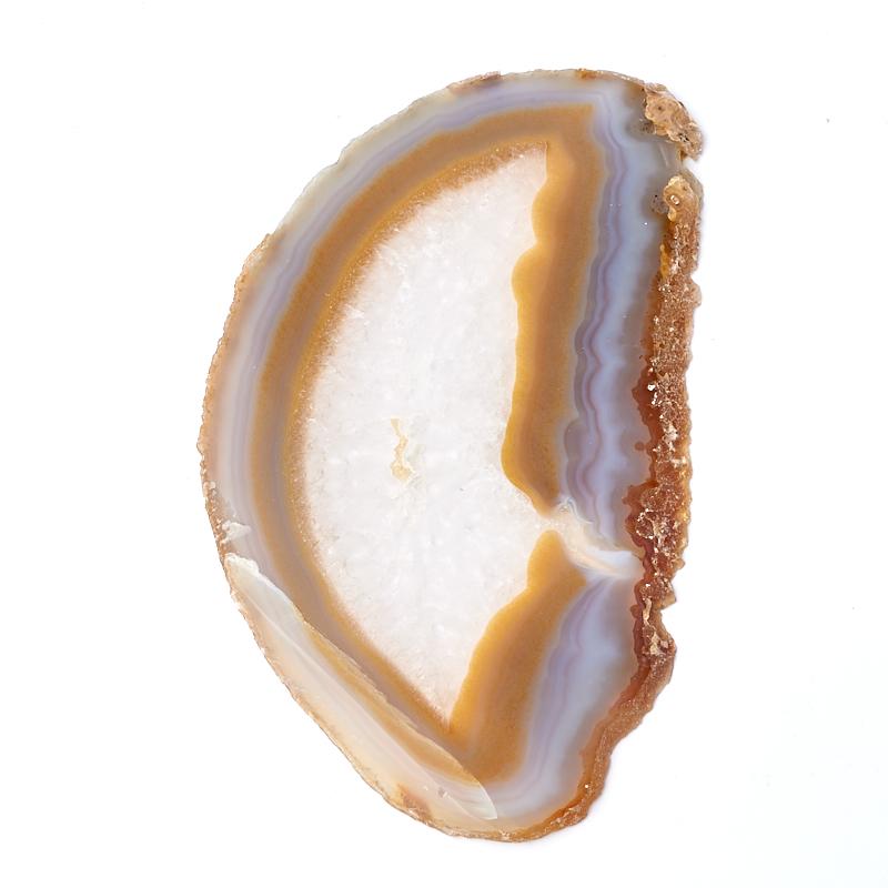 Срез агат серый XL (16-20 см)