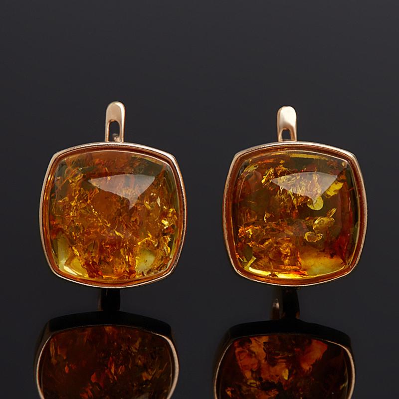 Серьги янтарь пресс (серебро 925 пр. позолота) серьги янтарь пресс серебро 925 пр позолота