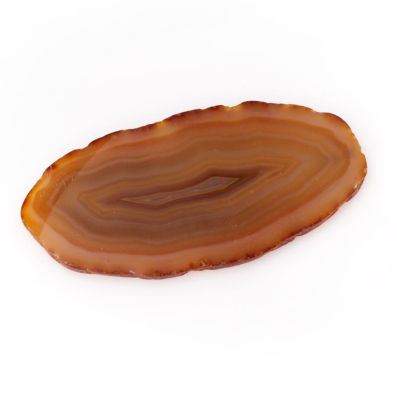 Срез агат серый M (7-12 см)