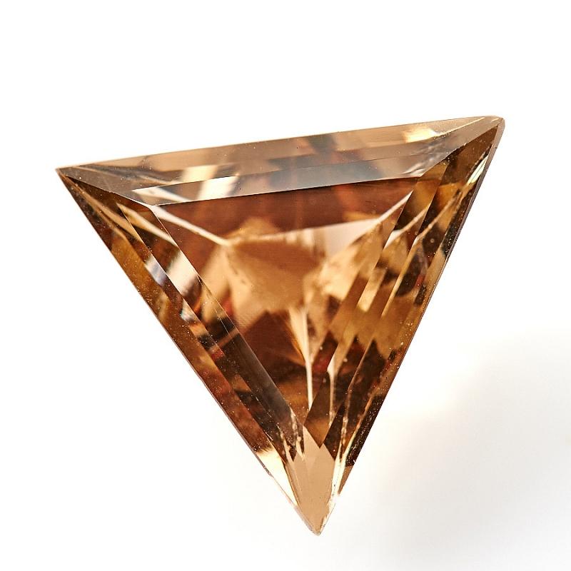 Огранка раухтопаз треугольник 10*10*10 мм катозал 10