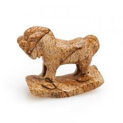 Лошадка яшма рисунчатая (песочная) Намибия 3 см