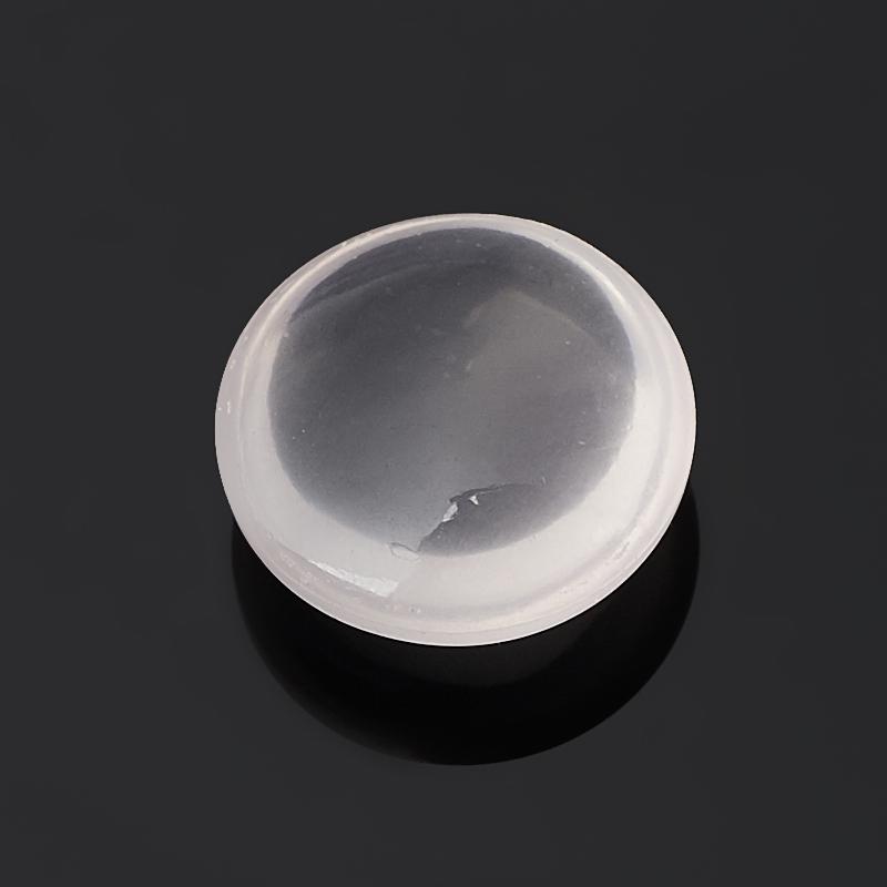 Кабошон розовый кварц 12 мм (1 шт)