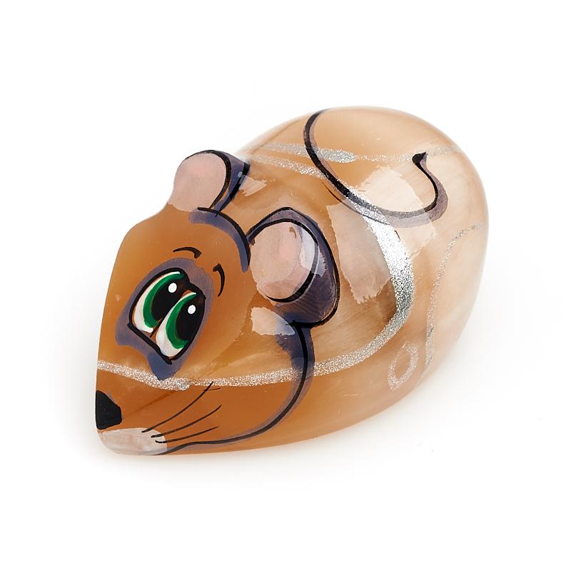 Мышка селенит 4,5-5 см котик селенит 5 см