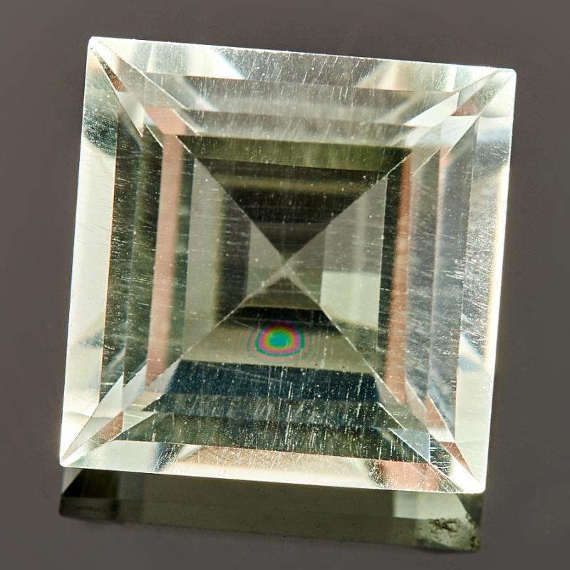 Огранка празиолит  квадрат 9*9 мм огранка горный хрусталь 9 9 мм