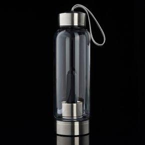 Посуда обсидиан черный Мексика (бутылка) 21 см
