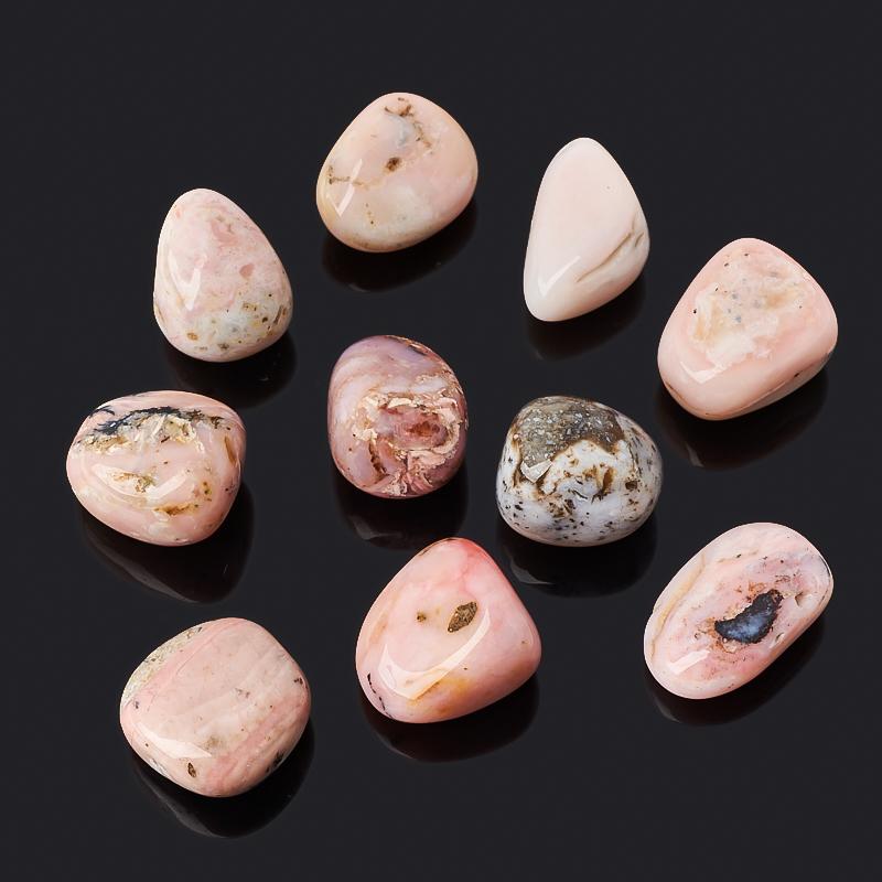Галтовка опал розовый (2,5-3 см) (1 шт)