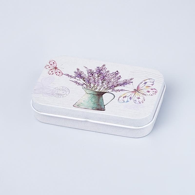 Шкатулка для хранения камней / украшений 10х6,5х2 см