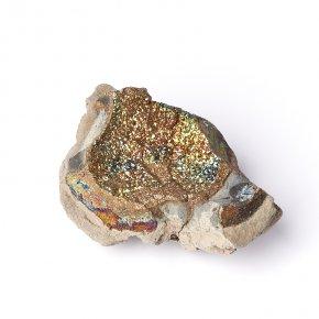 Образец спектропирит Россия S (4-7 см) (1 шт)