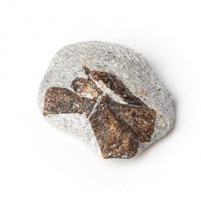 Образец ставролит Россия (2,5-3 см) (1 шт)