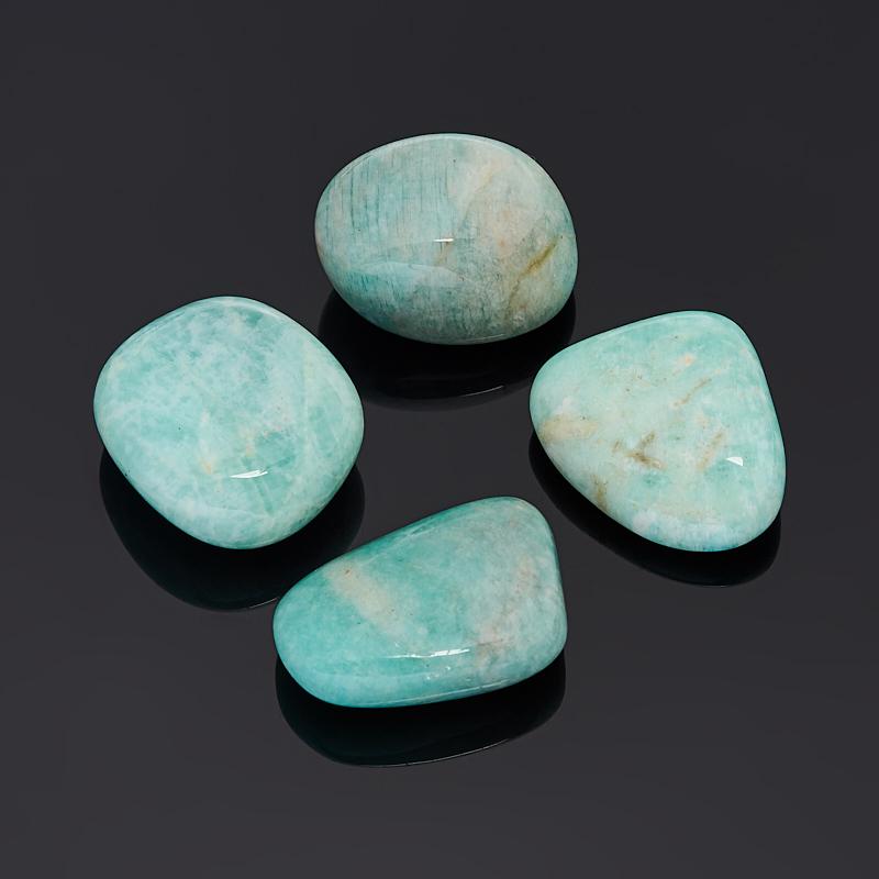 Галтовка амазонит Перу (2,5-3 см) (1 шт)