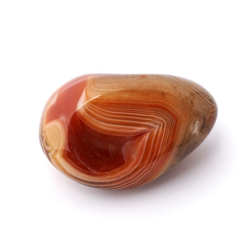 Галтовка агат красный Танзания S (4-7 см)