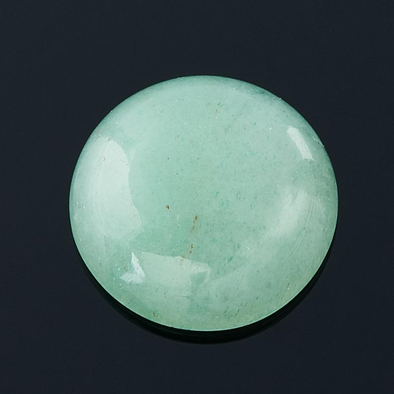 Кабошон авантюрин зеленый  10 мм бусина авантюрин зеленый шайба 6 6 5 мм 1 шт