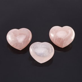 Сердечко розовый кварц Мадагаскар (6-7 см) (1 шт)