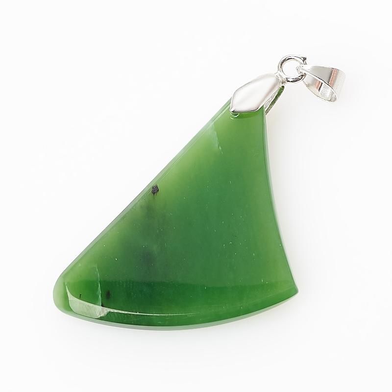 Кулон нефрит зеленый (биж. сплав) 5,5 см кулон нефрит зеленый 5 см