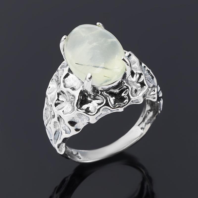 Кольцо пренит Мали (серебро 925 пр. оксидир.) размер 18,5