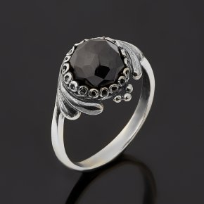 Кольцо шпинель Шри Ланка (серебро 925 пр. оксидир.) огранка размер 17