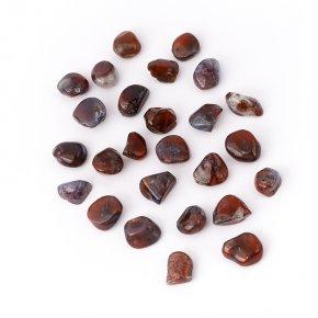 Галтовка агат красный Казахстан (1,5-2 см) (1 шт)