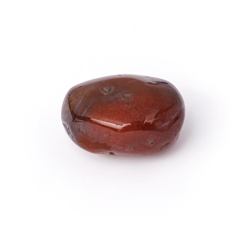 Галтовка агат красный Казахстан (1-1,5 см) (1 шт)