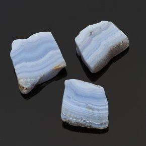 Срез агат голубой Намибия XS (3-4 см) (1 шт)