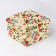 Подарочная упаковка (картон) универсальная (коробка) (микс) 170х170х110 мм