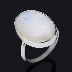 Кольцо лунный камень (адуляр) Шри Ланка (нейзильбер) размер 16,5