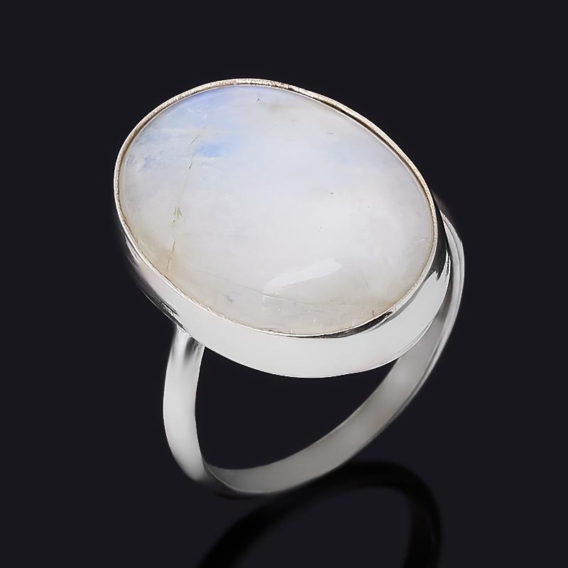 Кольцо лунный камень (адуляр) (нейзильбер) размер 16,5
