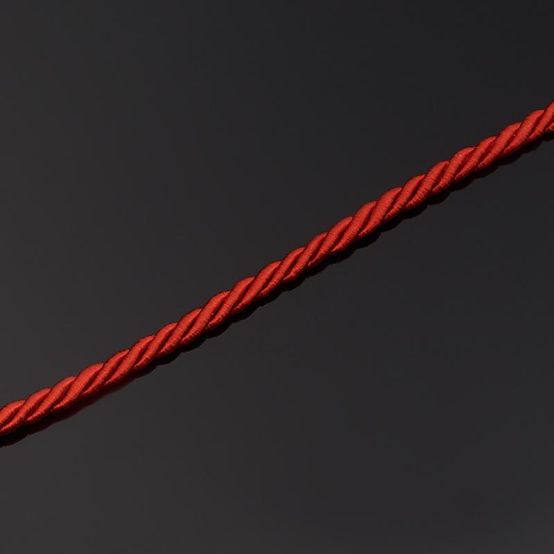 Шнурок (красный) 47 см (+4 см) (текстиль)