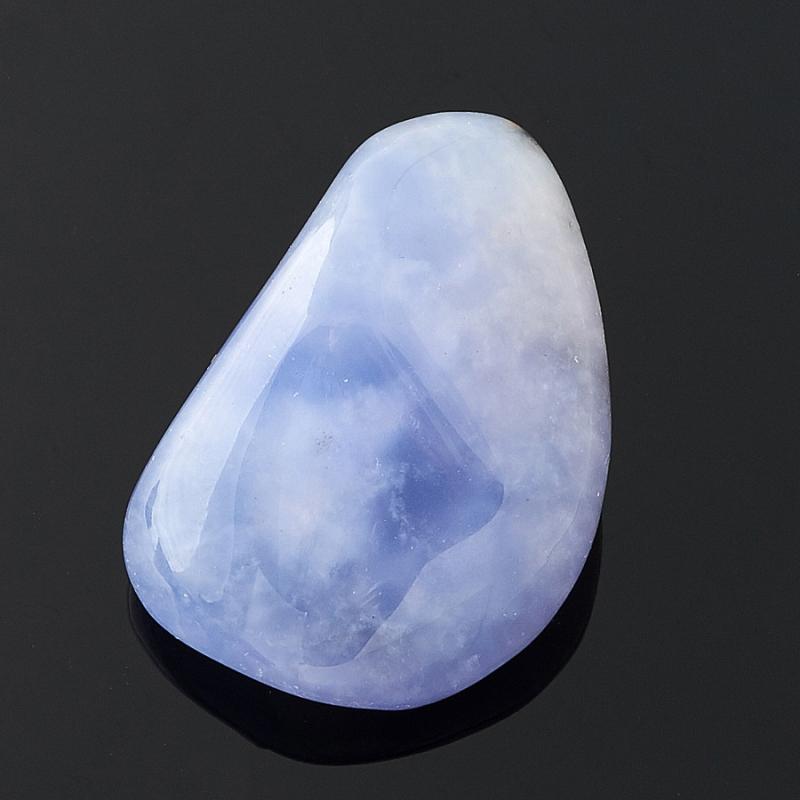 Галтовка Халцедон голубой Намибия (2,5-3 см) 1 шт