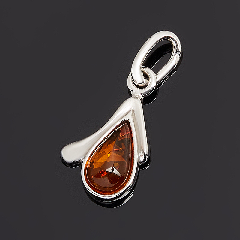 Кулон янтарь (серебро 925 пр. родир. бел.) кулон янтарь серебро 925 пр