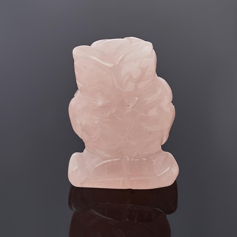 Сова розовый кварц 3,5-4 см