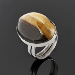 Кольцо симбирцит Россия (нейзильбер) (регулируемый) размер 17,5