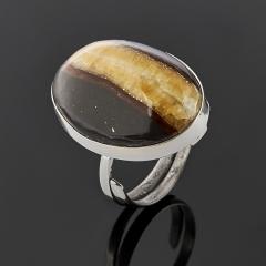 Кольцо симбирцит Россия (нейзильбер) (регулируемый) размер 18