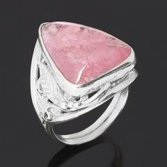 Кольцо турмалин розовый (рубеллит) Россия (серебро 925 пр.) размер 17,5