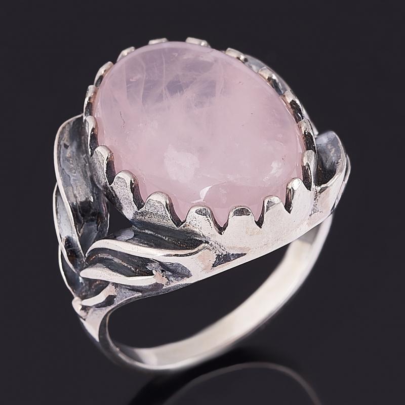 Кольцо розовый кварц (серебро 925 пр. оксидир.) размер 18 кольцо розовый кварц серебро 925 пр оксидир размер 18
